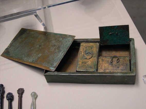 Medicine box, Museum Köln.