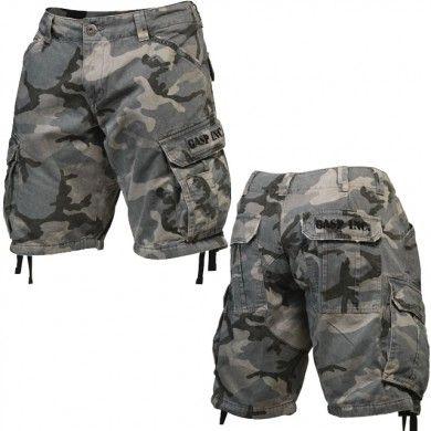 gasp camo shorts