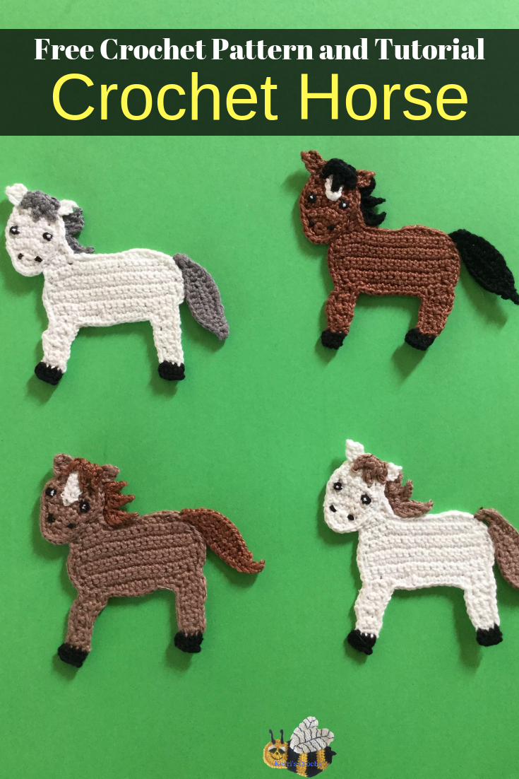 Crochet Horse Pattern - Crochet Animals