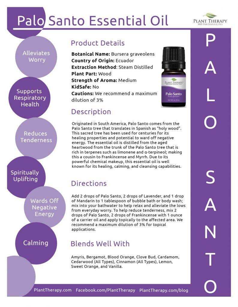 Palo Santo Plant Therapy Essential Oils Plant Therapy Oils Plant Therapy