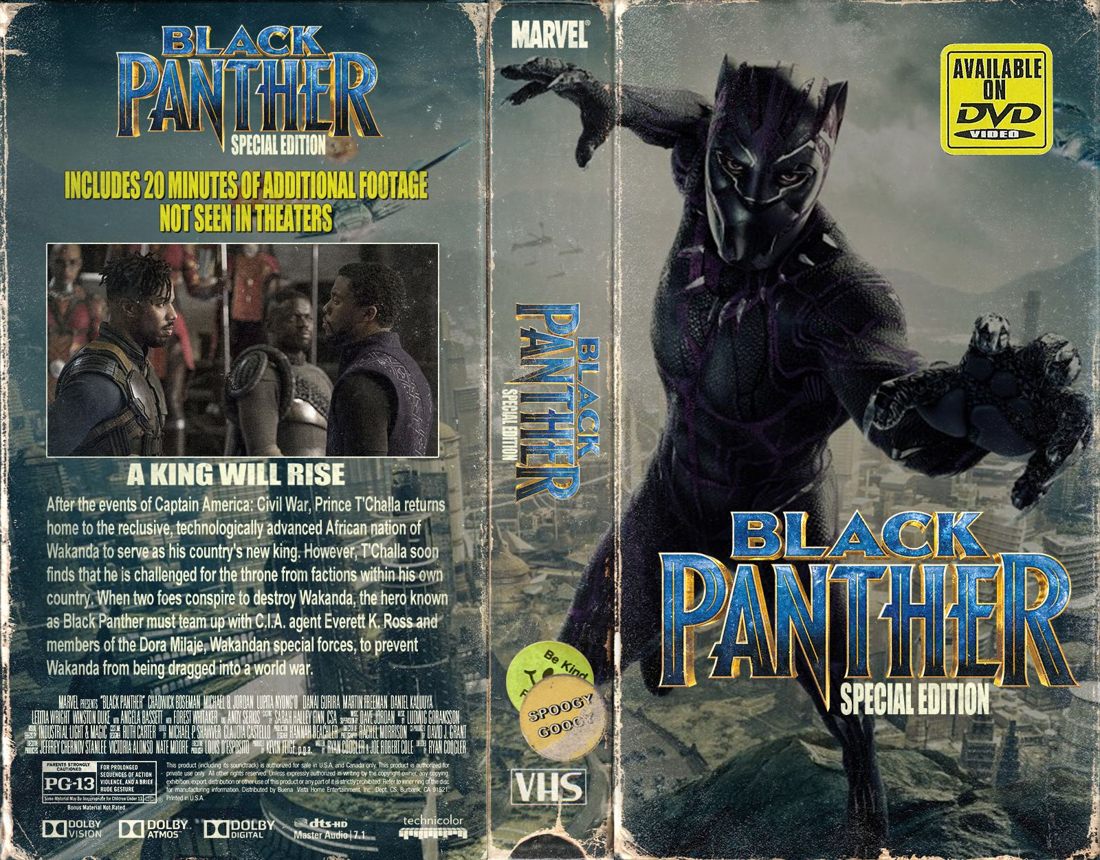 Black Panther Vhs Cover Art