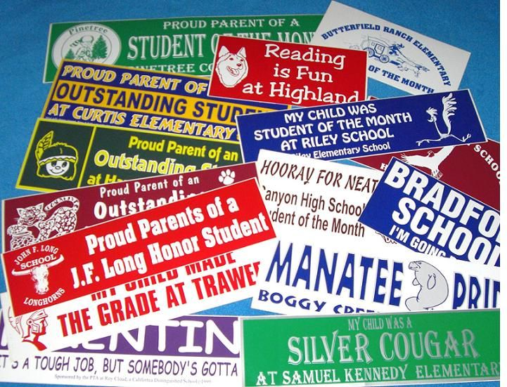 Get your message seen by the masses with cost effective bumper sticker promotions thousands