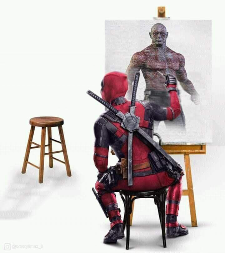 Deadpool, Drax, Wächter der Galaxis, unsichtbarer Mann, Unendlichkeitskrieg, Rächer, ... - #Deadpool #der #Drax #Galaxis #Mann #Rächer #Unendlichkeitskrieg #unsichtbarer #Wächter #comicbooks