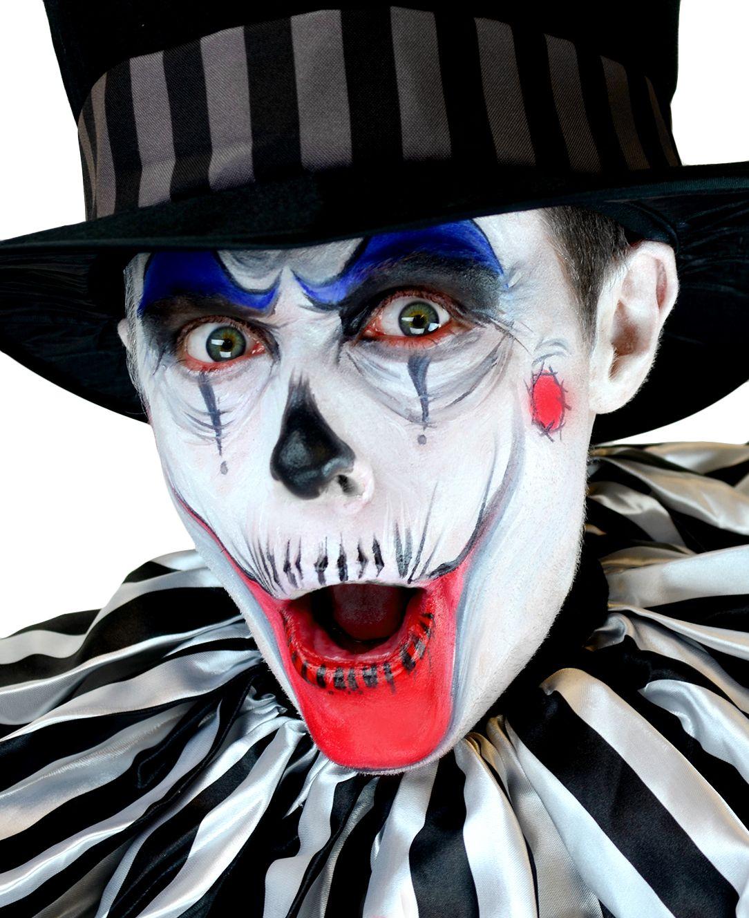 Halloween creepy clown makeup inspiration! This look