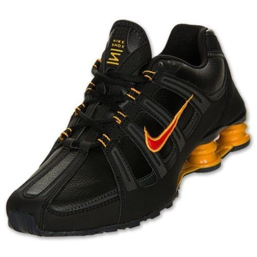 Nike Shox Turbo SL Men's Running Shoes Black Red Gold Sneakers 525248 067  NEW #Nike