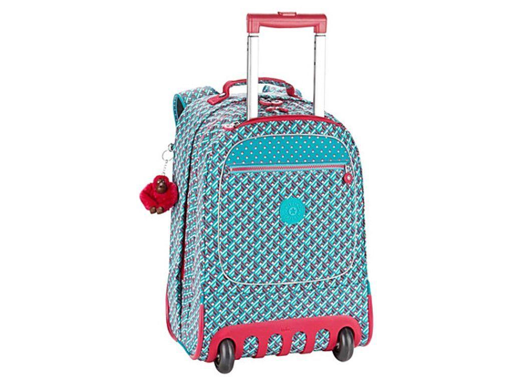 66a3a42dd6 KIPLING Wheeled crinkled-nylon backpack