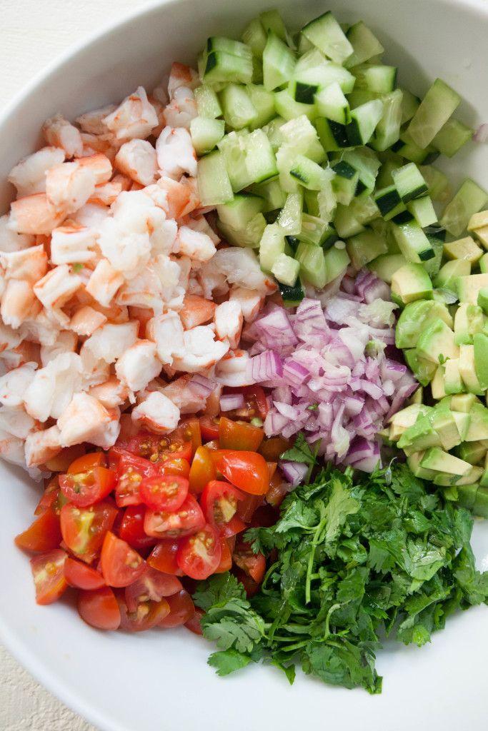 Simple Shrimp Ceviche Recipe Ceviche Recipe Healthy Dishes Shrimp Ceviche