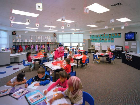 Classroom Decorations For Elementary School : Elementary school classroom design new salina