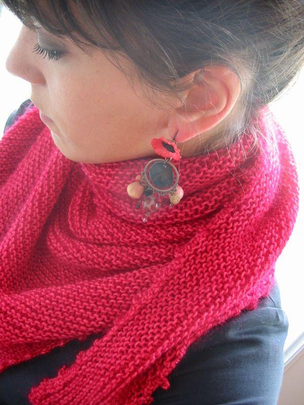 un trendy chale, par une star du tricot