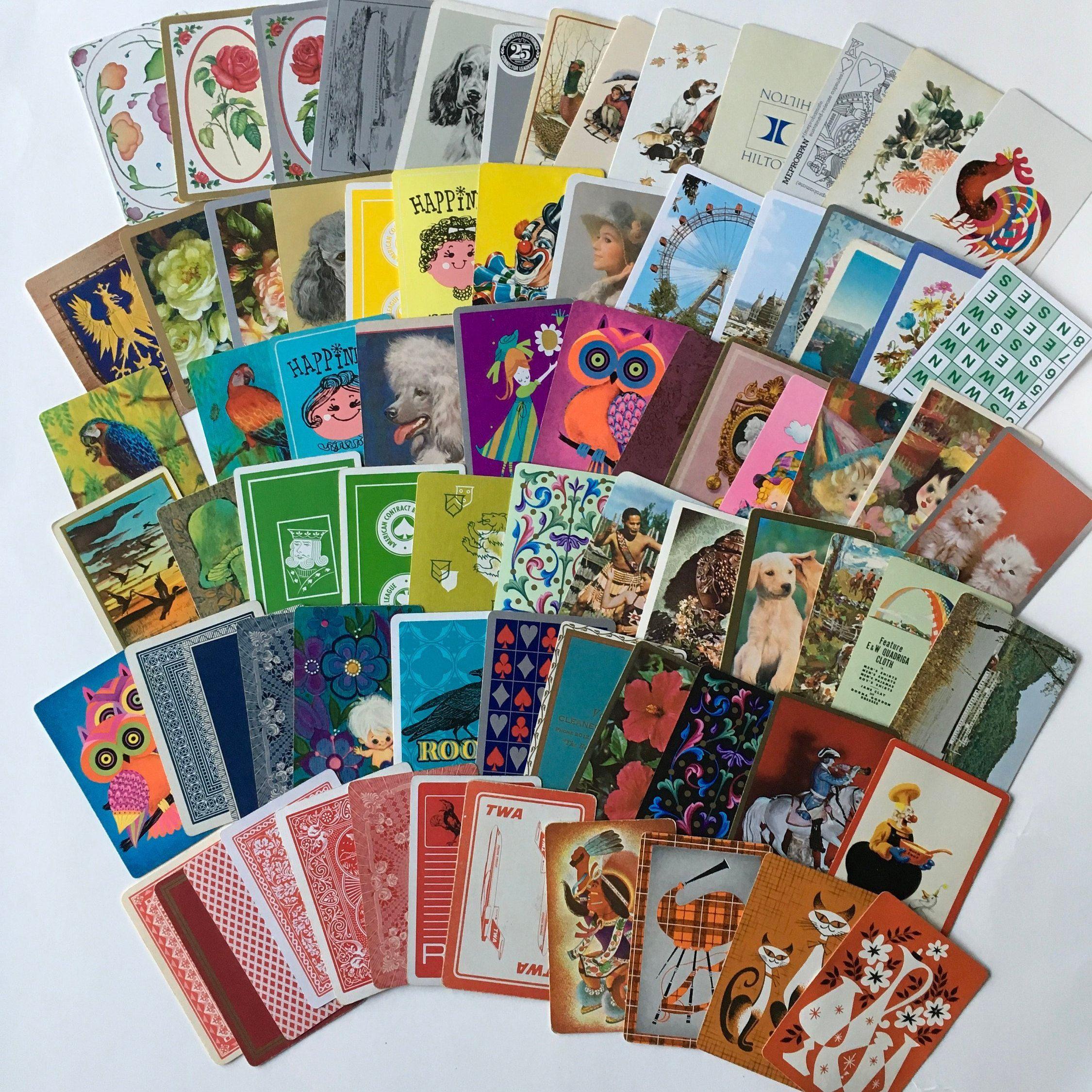 Lot of Vintage Ephemera Collage Art Junk Journals Paper Crafting Fun Assortment
