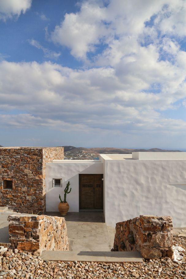Innendesignerin  Sommer auf Syros | Interview und Artikel