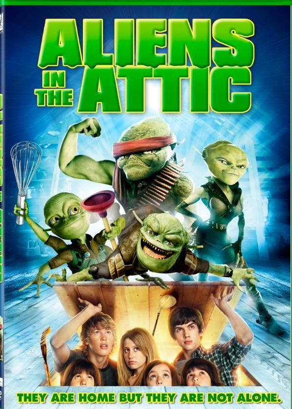 Aliens In The Attic Review Giveaway Full Movies Movies Good Movies
