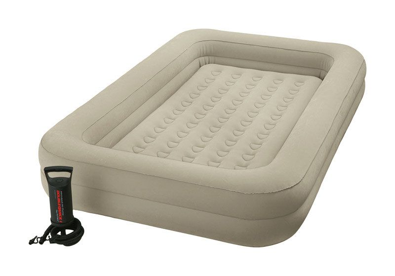 Kinderluchtbed Met Rand.Pumps Intex Kidz Travel Air Bed Twin Pump Included For Vivian