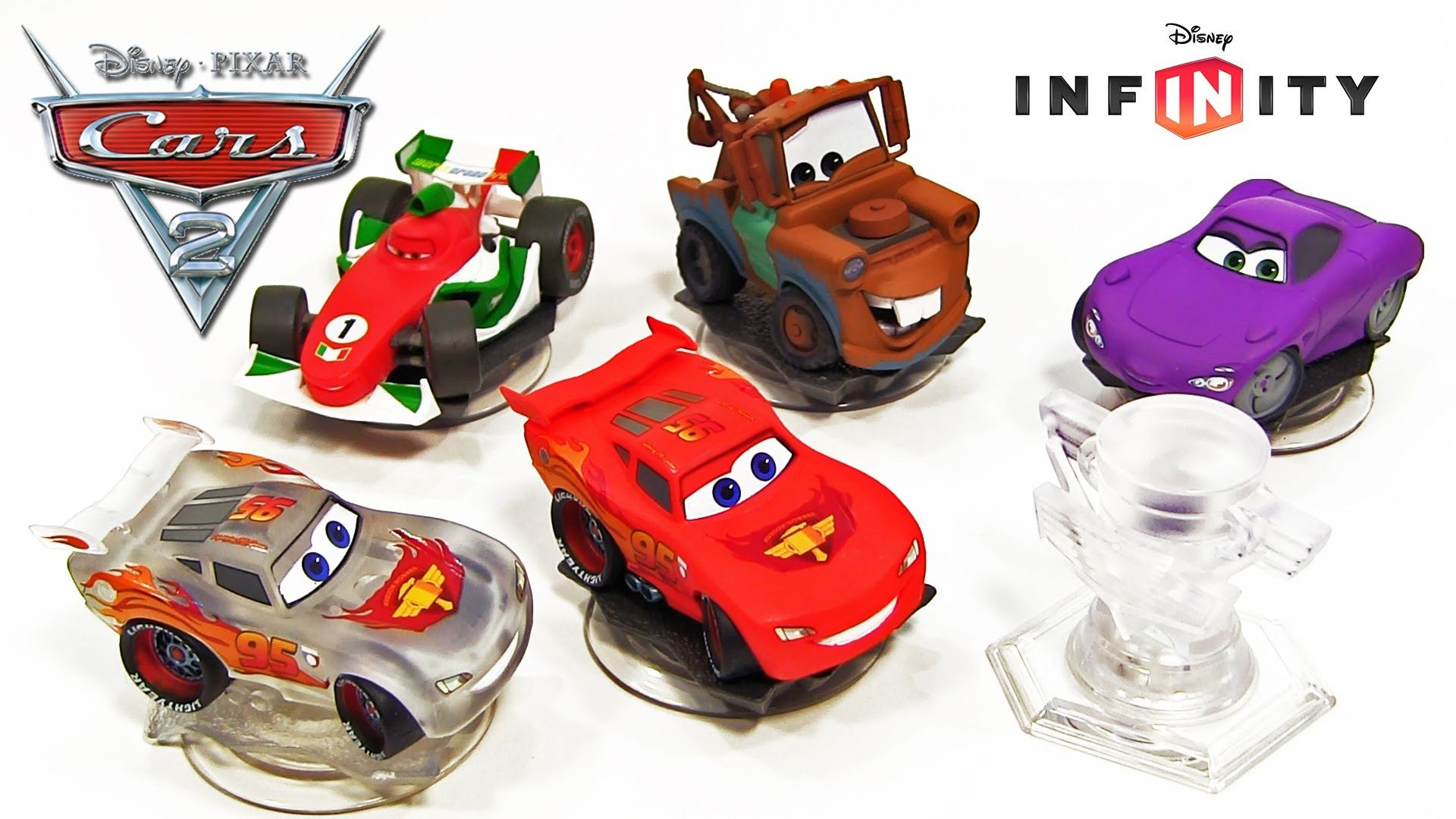 Disney Infinity Cars Figure Collection Pixar Cars Toys ...