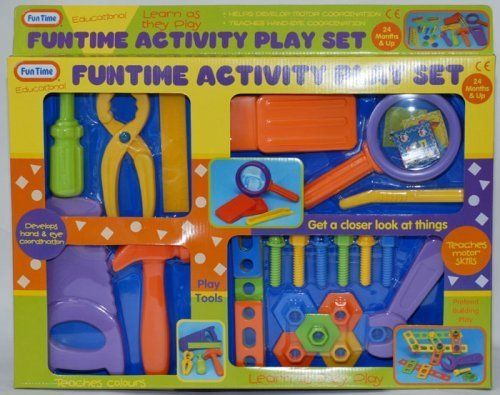 Fun Time Activity Play Tool Set >>> Read more  at the image link.