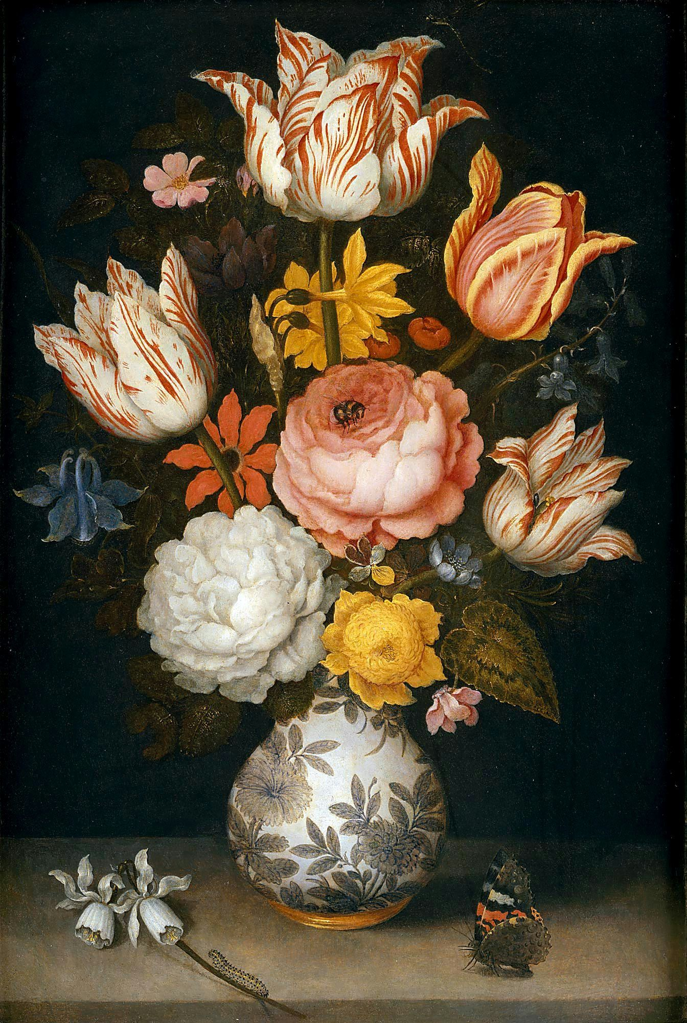 Dutch Flemish Still Life Flower Painting Oil Painting Flowers Painting