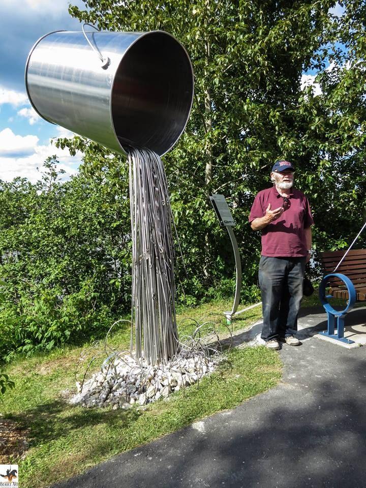 """""""Source de vie"""" Don Darby, Sculpteur / Sculptor, Québec"""