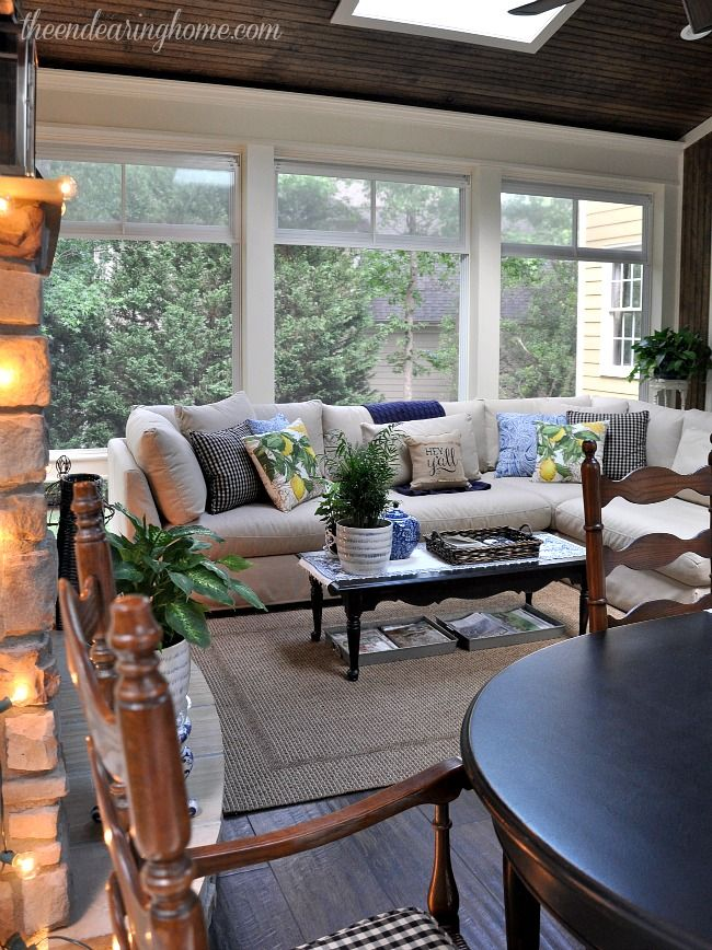 Home Additions Sunroom Decorating Four Seasons Room: The Endearing Home — Restyle, Repurpose, Reorganize In 2019
