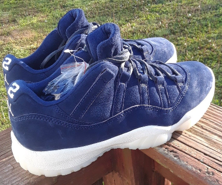 a486f88fbbf4 The Air Jordan 11 Low Jeter is arriving on the 14th. Whos copping ...