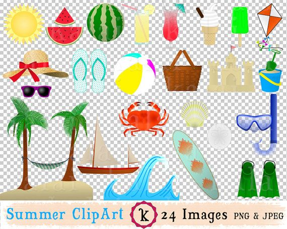 Pin By Stacy Huerta On Summer Fun Clip Art Summer Theme Crafts