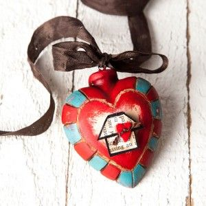 Heart Ornament Project by Cynthia Shaffer
