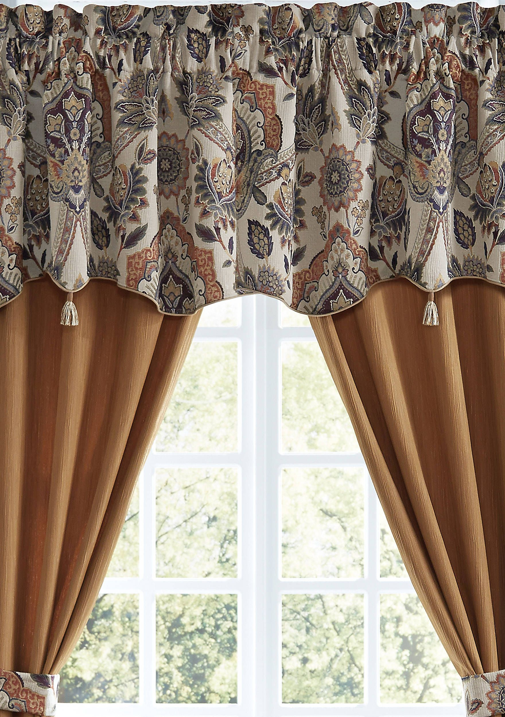 Croscill Callisto Valance Valance Window Styles Window Treatments