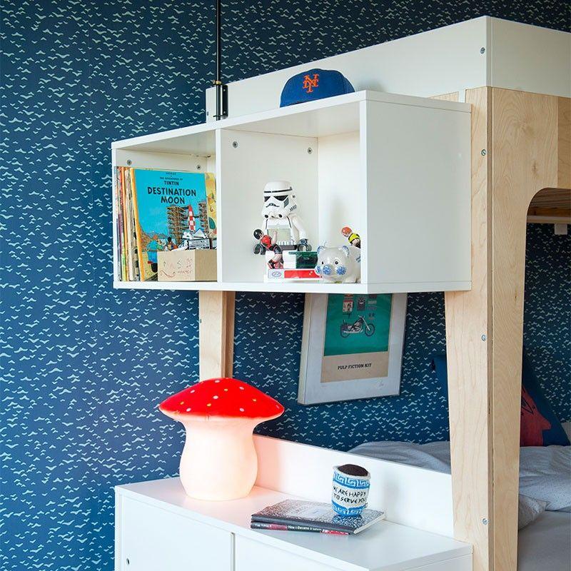 Oeuf Perch Shelving Unit Bunk beds, Kid beds, Safe bunk beds
