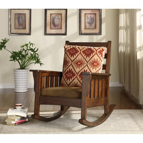 Slim Frames With Simple Designs Make Accent Rocking Chairs Perfect In Small  Rooms.