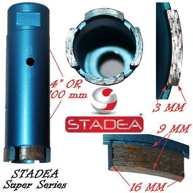 Stadea Masonry Concrete Diamond Hole Saw Core Drill Bits 35mm Or 1 3 8 Concrete Stone Granite Stone Granite Tile