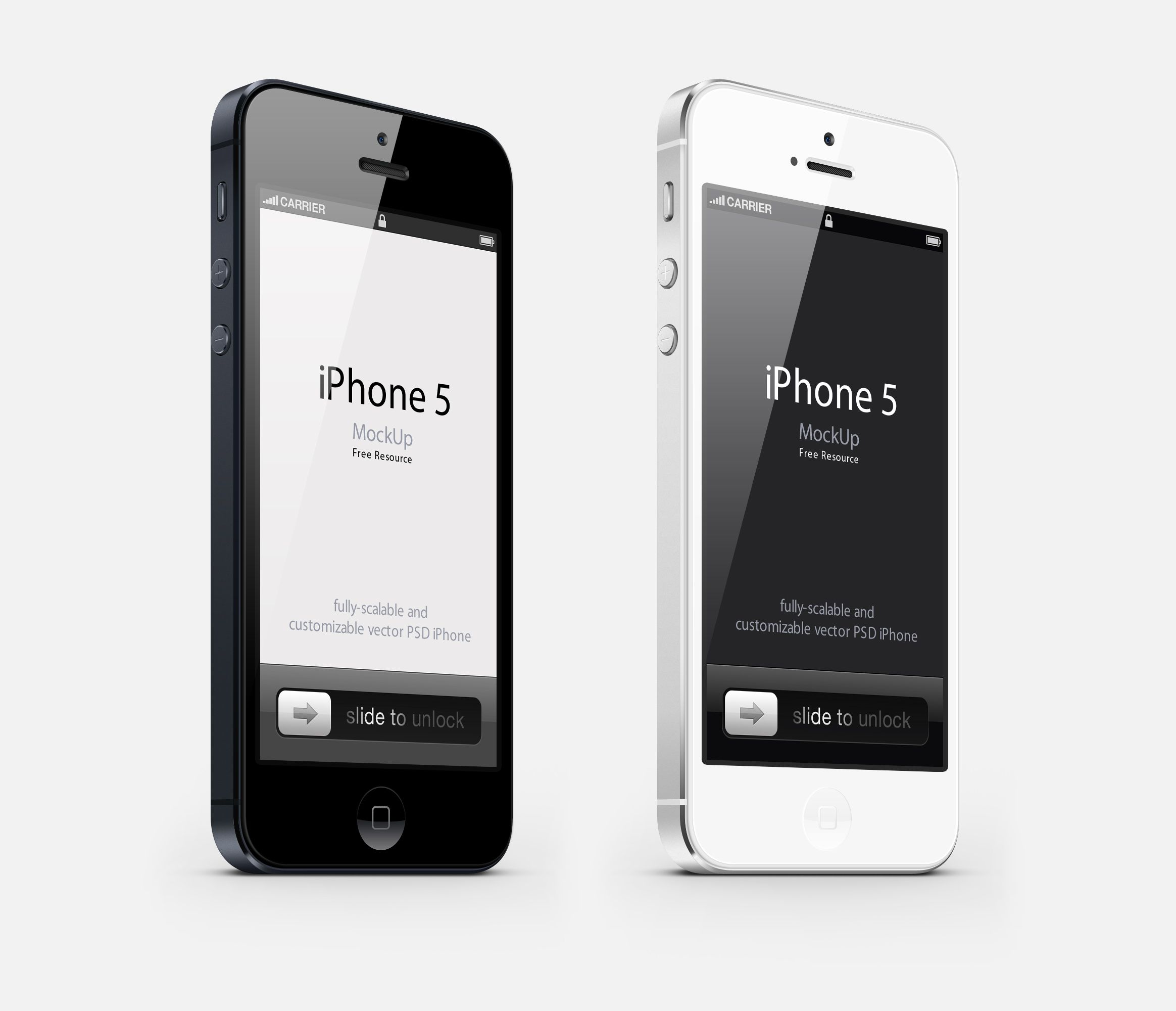Iphone 5 3 4 View Mockup Iphone Psd Iphone Mockup Free Iphone