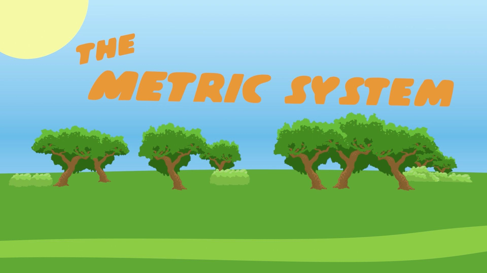Metric System For Kids Explained Through Song