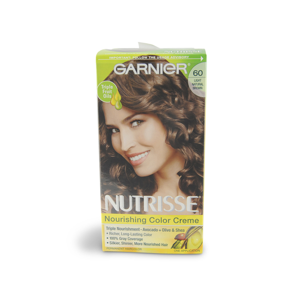 Im Learning All About Garnier Nutrisse Haircolor 60 Light Natural