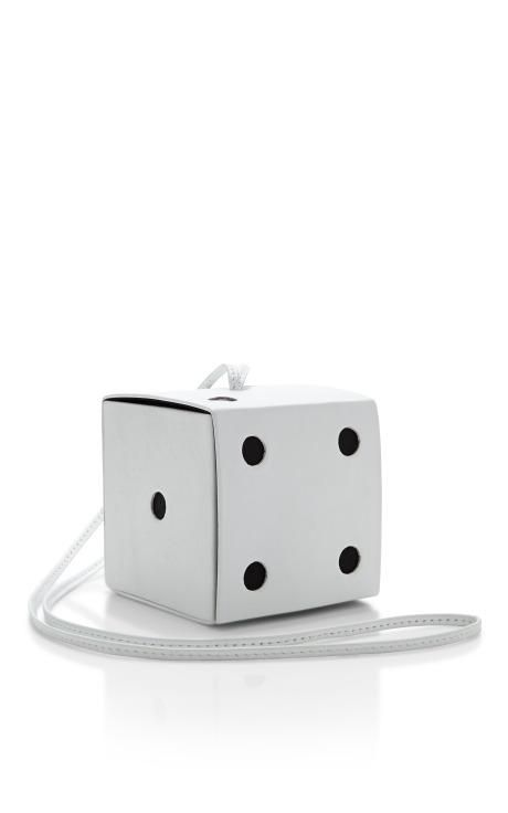 Yaz Bukey Shoulder Dice Bag by Yaz Bukey for Preorder on Moda Operandi