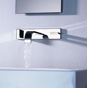 Dornbracht Mem Hole Wall Mounted Faucet Modern Bathroom - Dornbracht bathroom faucet