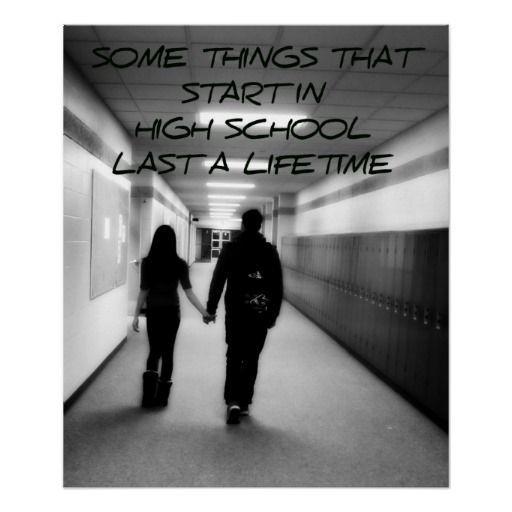 High school sweetheart definition
