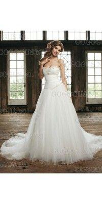 een-line-sweetheart-beading-lace-up-tule-trouwjurken