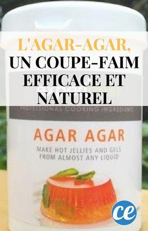 L'Agar-Agar, un Coupe-Faim Efficace et Naturel au Drôle de