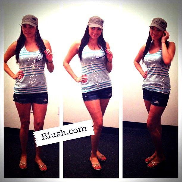 Behind the Scenes #blushlookbook