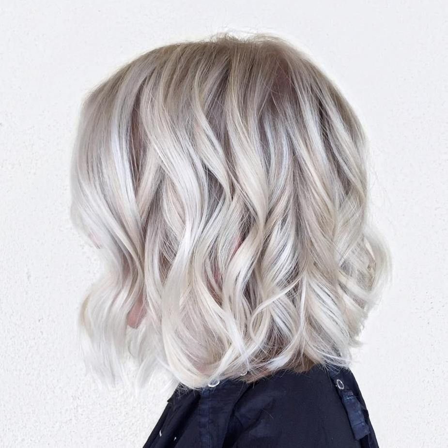 70 Winning Looks with Bob Haircuts for Fine Hair | Icy blonde ...