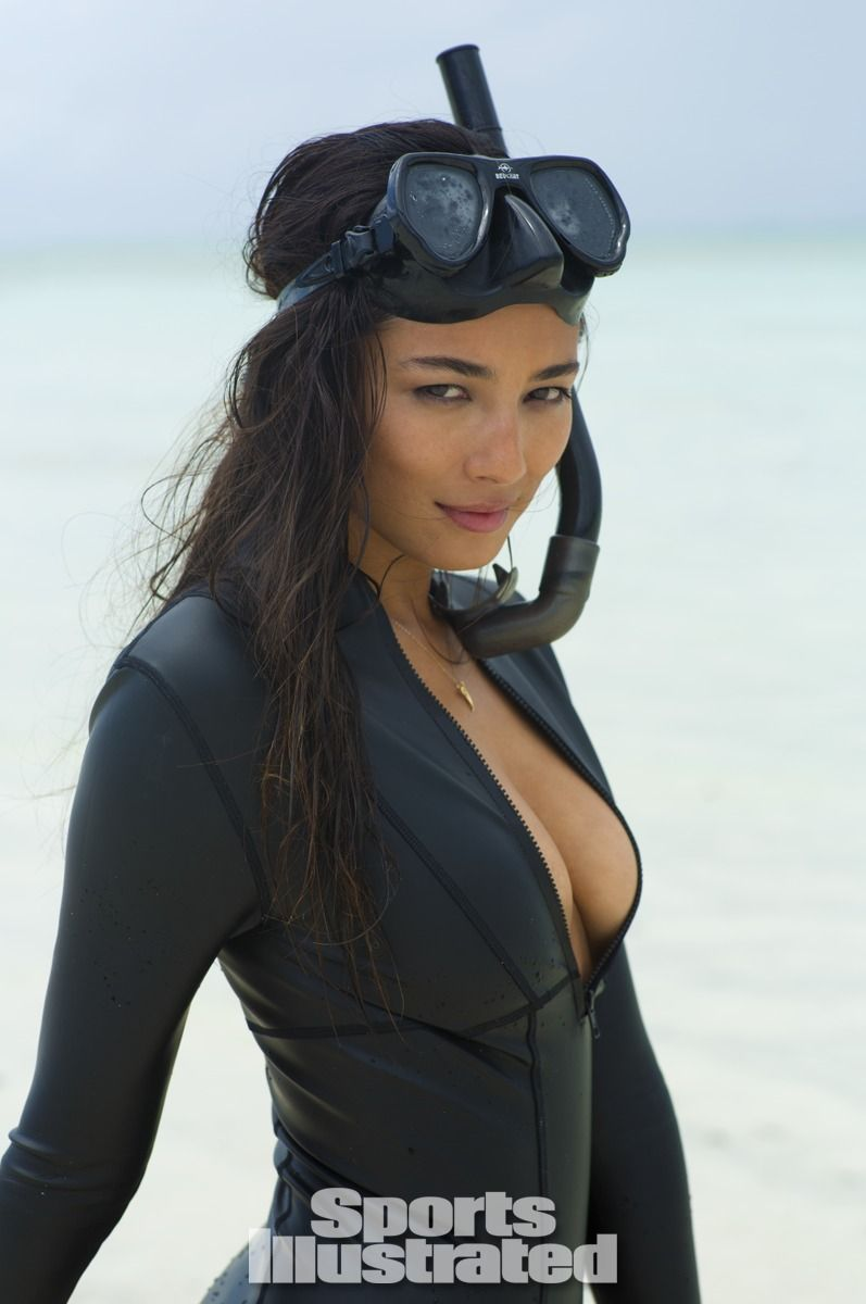 Pin by Mason Lam on Jessica Gomes Sports illustrated