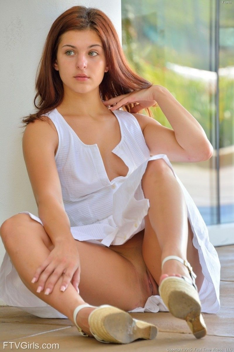 ftv fiona busty chick in a white dress | sex | pinterest