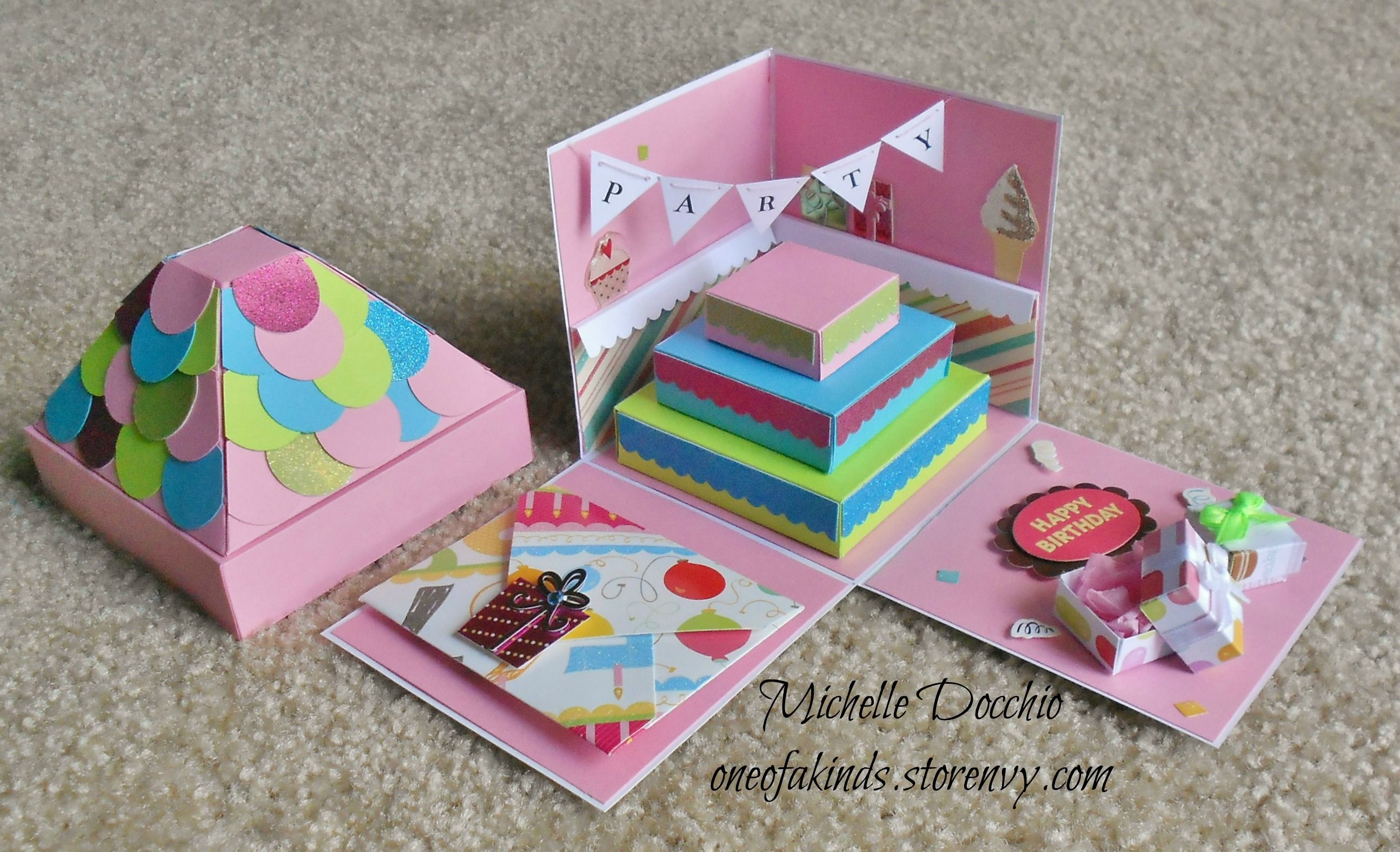 Birthday Explosion box/Cake · One of a Kinds · Online ...