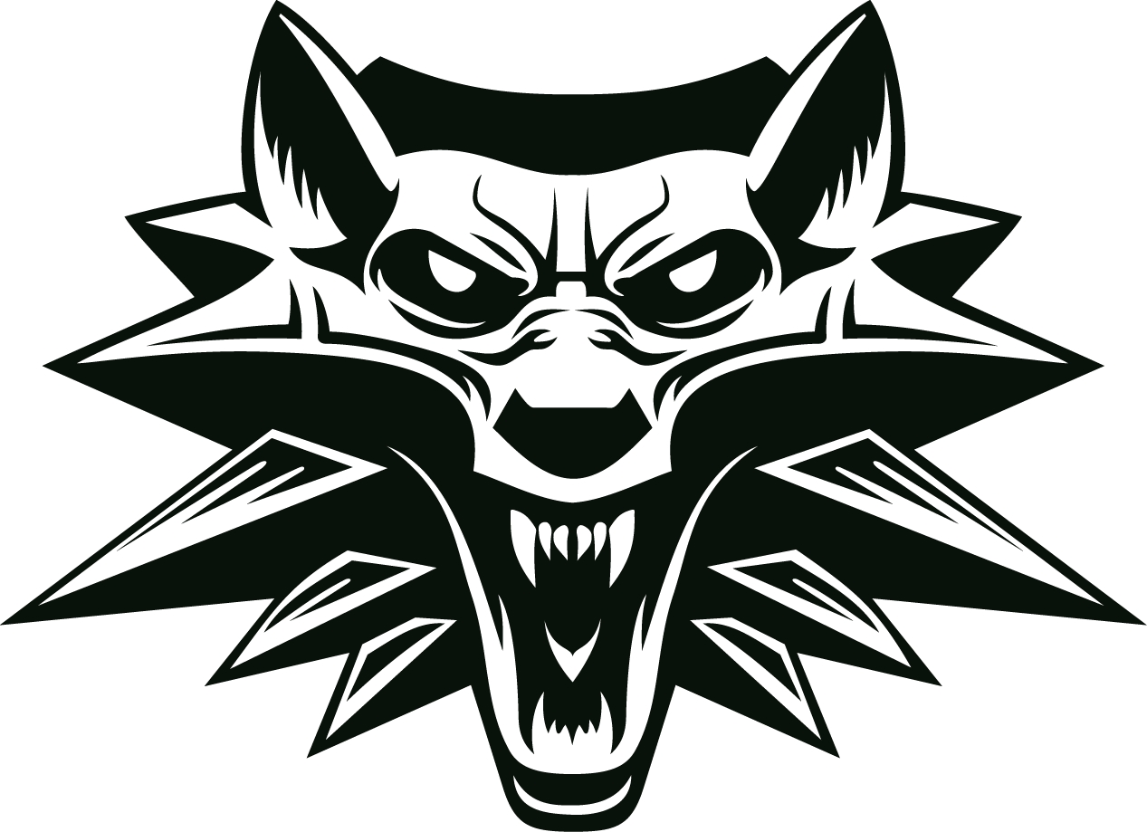 The Witcher Logo PNG Image Witcher, Cores, Tatoo