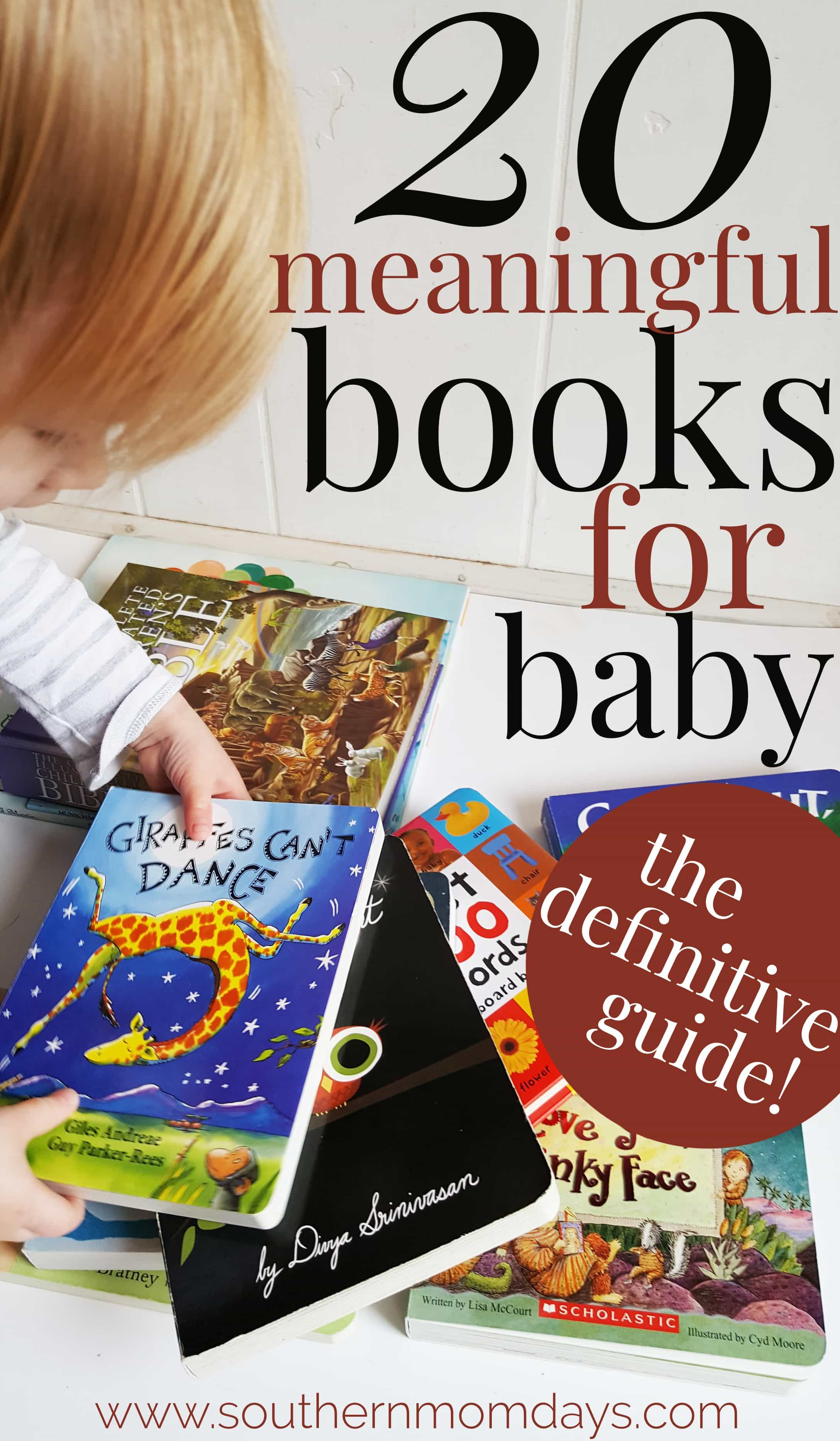 20 meaningful books for baby and toddlers you cant
