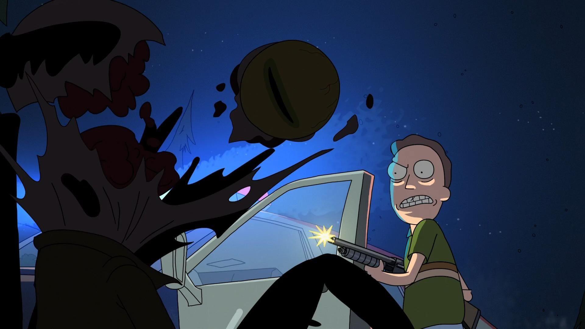 Keshon Thomas Rick And Morty Wallpaper Desktop Nexus