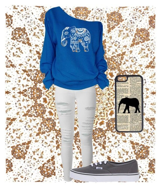 """"" by reb320 ❤ liked on Polyvore featuring Frame Denim, Vans and CellPowerCases"