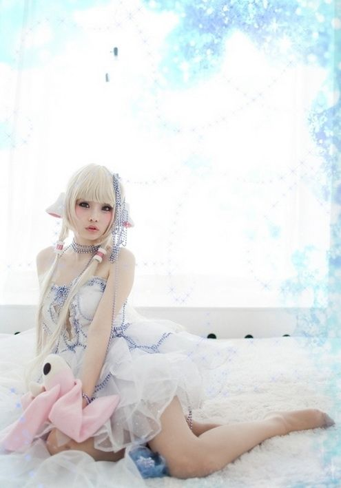 Topless Chobits Cosplay Nude Pic