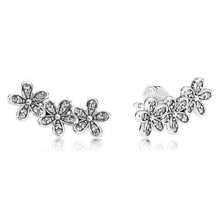 53fe91930 Infinite Love Stud Earrings, Clear CZ | PANDORA Jewelry US | I Want ...