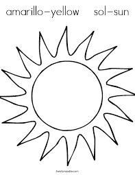 Kostenlose Malvorlage Sonne Grosse Sonne Zum Ausmalen