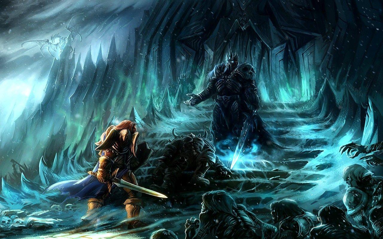 World Of Warcraft Lich King Fantasy Art Arthas Artwork Warriors
